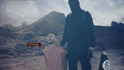Po Messim, terroryści grożą kolejnym piłkarzom! Nowe grafiki z egzekucjami