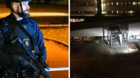 Potężna eksplozja w Szwecji! Celem ataku był posterunek policji