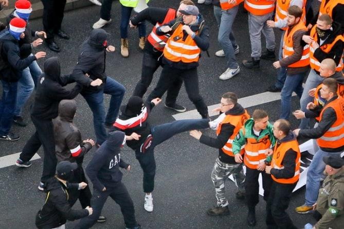 Kilka osób zatrzymanych po wrocławskim Marszu Patriotów usłyszało zarzuty