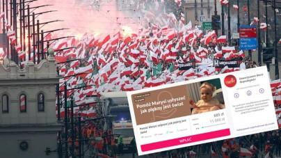 Marsz Niepodległości pomaga małej Marysi zebrać pieniądze na operacje