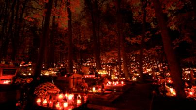 Ukraina: Światełko Pamięci na Cmentarzu Łyczakowskim. Młodzi Polacy pamiętają