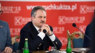 Marek Jakubiak tłumaczy się ze zbiórki podpisów