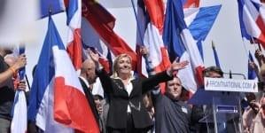 Francja: Partia Le Pen największą siłą polityczną w kraju