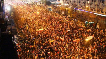 """Zagraniczne media komentują Marsz Niepodległości: """"Tysiące faszystów maszerujących w Warszawie"""""""