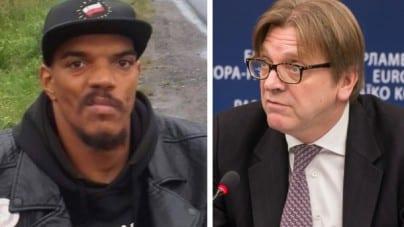 Zapowiedzi stały się faktem! Verhofstadt pozwany przez Bawera Aondo-Akaa