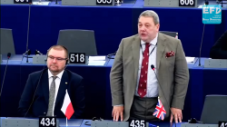 """Kontrowersyjny eurodeputowany w PE: """"Polska powinna dołączyć do Brexitu""""  [WIDEO]"""