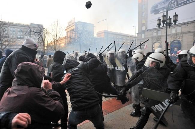 [TYLKO U NAS] RUSINOWSKI: Zadyma na Marszu Niepodległości
