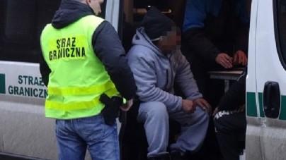 Imigranci z Turcji chcieli nielegalnie przekroczyć polską granicę w Bieszczadach