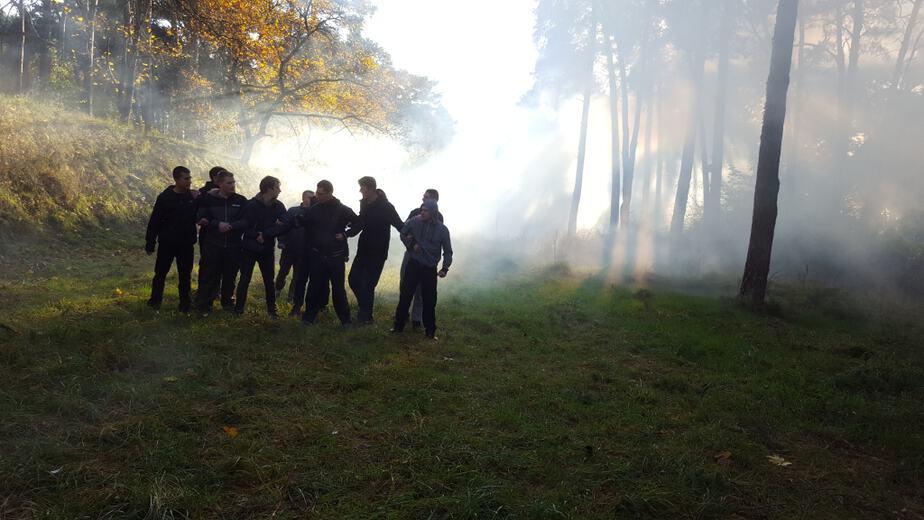 Intensywne przygotowania Straży Marszu Niepodległości! Ostatni weekend pod znakiem szkoleń! [ZDJĘCIA]