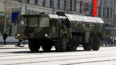Rosja rozmieszcza w Obwodzie Kaliningradzkim rakiety zdolne do przenoszenia ładunków jądrowych