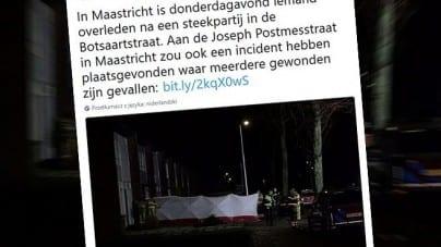 Atak nożownika w Maastricht. Policja zatrzymała 2 osoby w meczecie
