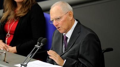 Wolfgang Schaeuble krytykuje Martina Schulza