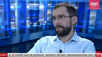 """Tomasz Gryguć """"Pan Nikt"""": """"Z Żydami, USA i Moskwą trzeba rozmawiać z pozycji poszanowania samych siebie"""" [WIDEO]"""