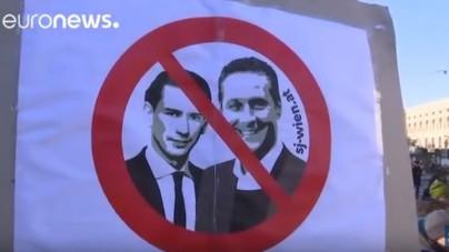 """Austria protestuje przeciwko """"nazistom"""", czyli o problemie z akceptacją demokratycznych wyborów [wideo]"""
