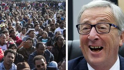 Juncker i jego przemyślenia. Straszy wojną w razie rozpadu UE, chce więcej władzy i … imigrantów