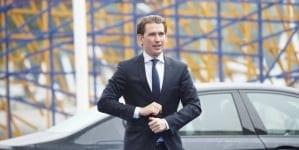 """Kanclerz Austrii: """"Należy zamknąć europejskie porty dla statków z imigrantami"""""""