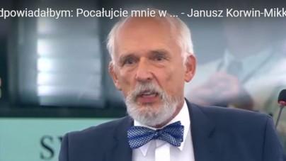 YouTube znowu cenzuruje! Konto z krytycznymi wobec UE wystąpieniami Janusza Korwin-Mikkego w Parlamencie Europejskim usunięte