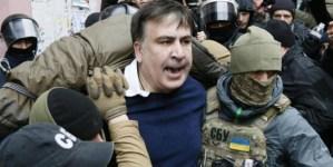 """Holandia: """"Jeśli Saakaszwili opuści Ukrainę, Holandia jest gotowa przyjąć go do siebie"""""""