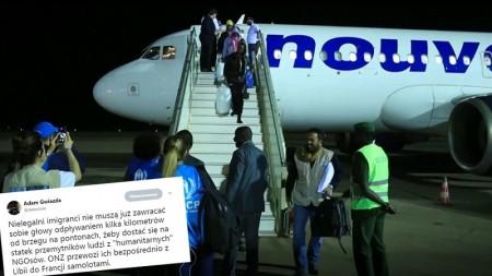 Nielegalni imigranci nie muszą się już martwić. ONZ przewozi ich samolotami
