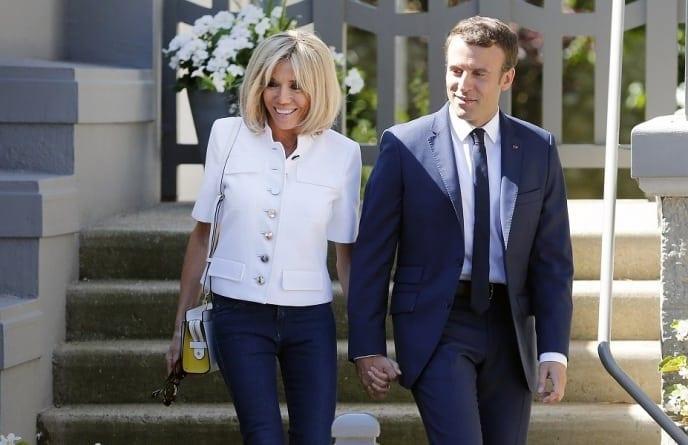Brigitte Macron wygwizdana na meczu przeciwko przemocy wobec kobiet