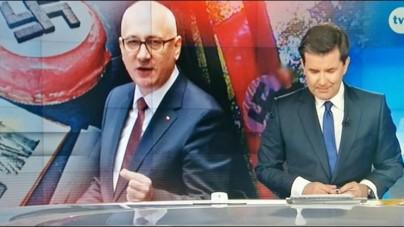 """KRRiT zajmie się skandaliczną grafiką """"Faktów"""" TVN"""