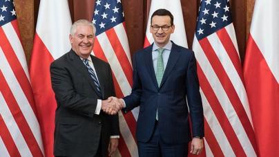 Polska i Stany Zjednoczone razem przeciwko Nord Stream 2
