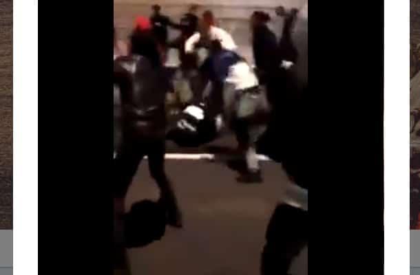 Tak wyglądał Sylwester we Francji. Policjantka brutalnie skatowana przez imigrantów