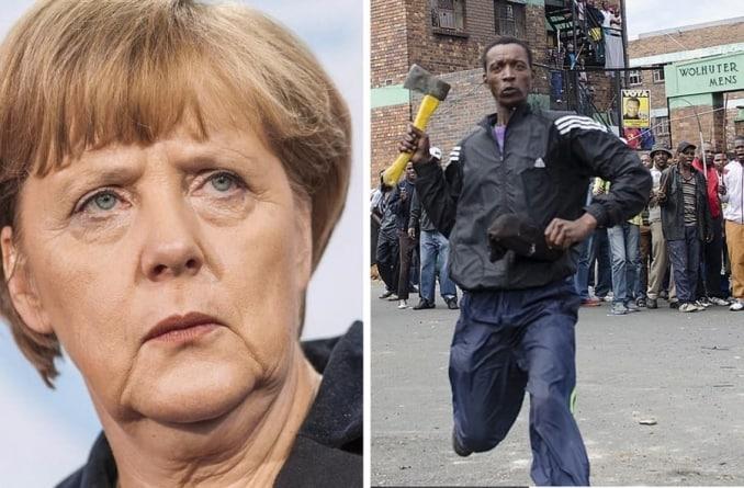 """Angela Merkel: """"Przyszłość Niemiec zależy od imigracji"""""""