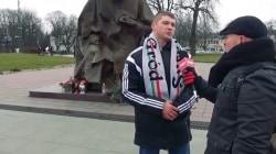 """Pielgrzymka kibiców na Jasną Górę """"Duch patriotyzmu obudził się w Polsce"""" [wideo]"""