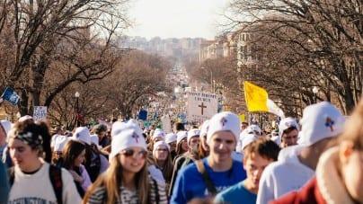 USA: Setki tysięcy osób, w tym Donald Trump, przeciw aborcji na Marszu dla Życia [FOTO]