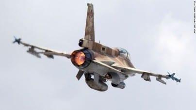 Syria zestrzeliła izraelski myśliwiec