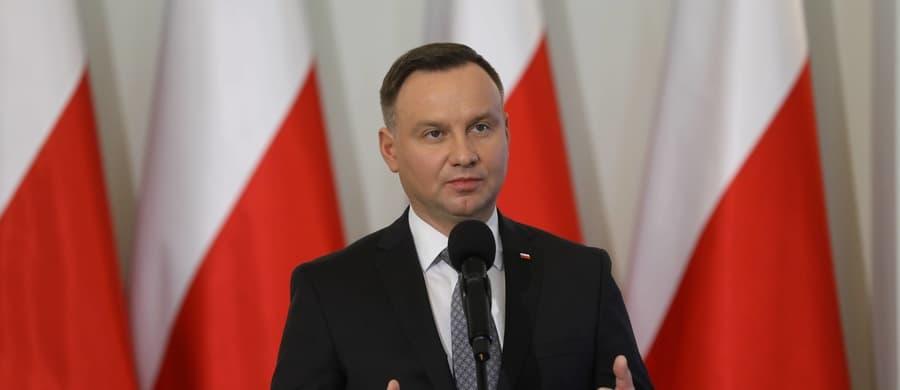 """Andrzej Duda podczas przemówienia cytuje Dmowskiego: """"Jesteśmy Polakami i obowiązki mamy polskie"""""""