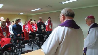 Pjongcznag: Polscy sportowcy wzięli udział w Mszy w Środę Popielcową