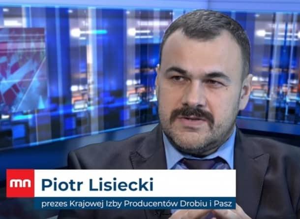 Lisiecki: Koronawirus dobija polskie drobiarstwo
