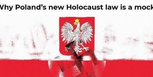 Washington Times: Swastyka na polskiej fladze i oskarżenia o udział w Holokauście