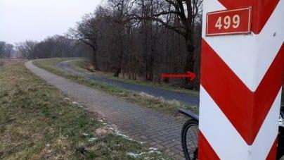 Lubuskie: Stalowa pułapka na ludzi na ścieżce rowerowej