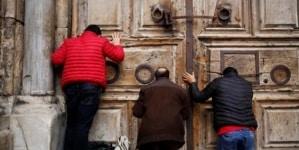 Bazylika Grobu Pańskiego zamknięta do odwołania [FOTO]