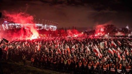 """Bąkiewicz: ,,Cieszę się, że Marsz pozostaje inicjatywą społeczną. Za to dziękuję"""" [WIDEO]"""