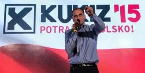 Paweł Kukiz: My nawet nie mamy statusu kelnera