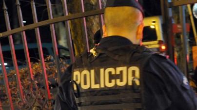 Zgierz: Policjanci zaatakowani przez Gruzinów i Ukraińców