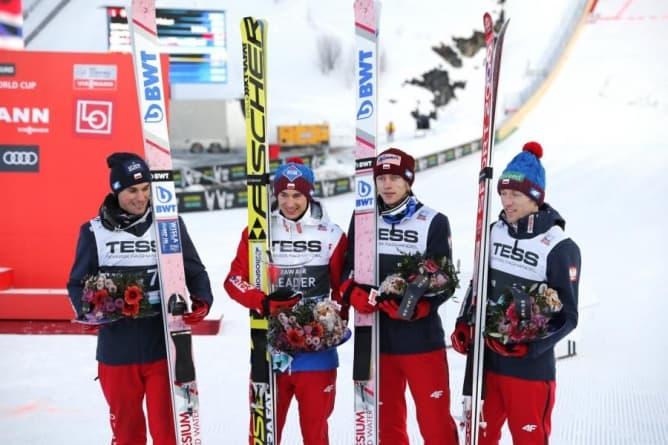 Polacy drudzy w skokach narciarskich