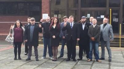 """Członkowie Britain First ujawniający muzułmańskie gangi skazani za """"szerzenie mowy nienawiści"""""""