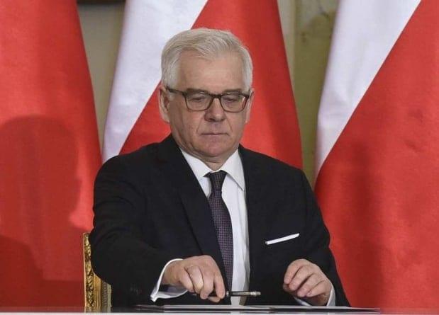 Czaputowicz wziął udział w uroczystościach na Białorusi