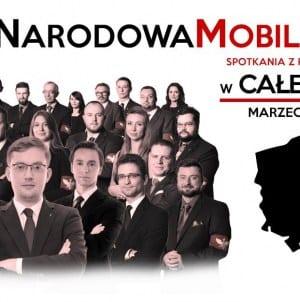 Narodowa Moblizacja. Przyjdź na spotkanie z Ruchem Narodowym w całej Polsce [ZOBACZ TERMINY]