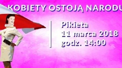 """Pikieta """"W imieniu dam"""" już w niedzielę w Warszawie!"""