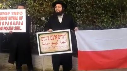 Ortodoksyjni Żydzi… bronią Polski! Ostro krytykują Izrael [WIDEO]