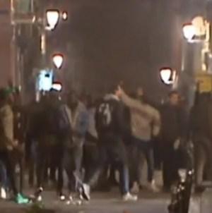 Zamieszki imigranckie wstrząsnęły Madrytem [WIDEO]