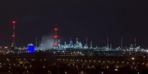 Wybuchy i pożar w saudyjskiej rafinerii Aramco