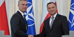 """Duda po spotkaniu ze Fyrstenbergiem: """"Zgadzamy się co do celów NATO"""""""