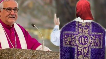 Niemcy: Ksiądz podczas Mszy świętej założył muzułmański czador… w proteście przeciw AfD